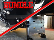 Bundle - R1200gsa Lc Stand Bash Plate + Touring Front Engine Protector