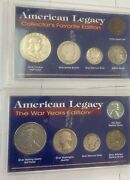 Lot Of American Legacy Collectorand039s Favorite Edition 5 Coin Set