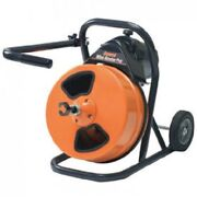 New Mini-rooter Pro Drain/sewer Cleaning Machine W/75' X 1/2 Cable And Cutters