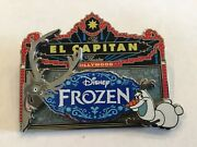 Rare Disney Studio Frozen Trading Pin Le 750 Hollywood Olaf And Sven L267 Dssh