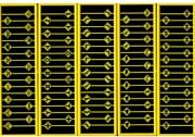 Tichy Train Group 2619 - Assorted Warning Signs 90 Pcs - N Scale