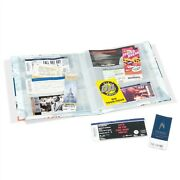 Ticket Collection Album Concerts Sport Games Live Shows Tickets 26 Clear Pages