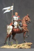 Tin Toy Soldiers Elite Painted 90 Mm Knight On Horseback