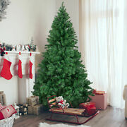 Christmas Pine Tree 2and039/5and039/6and039 Feet Unlit Artificial With Sturdy Mental Legs Us