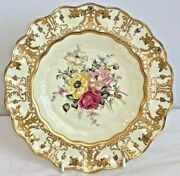 Stunning Royal Crown Derby Cabinet Plate - Artist Signed Cuthbert Gresley