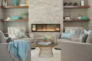 Empire Boulevard 48 Vent-free Linear Fireplace Vflb48 W/ Remote- Electronic Ign