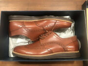Cole Haan-10.5- Men's Cole Haan Leather Grand Shortwing Oxford Lunargrand