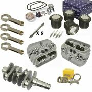 1776cc Air-cooled Vw Engine Rebuild Kit 69mm Crank Gtv-2 Heads And Pistons