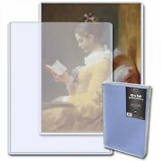 Bcw Photo Document / Print Topload Rigid Clear Holders 9x12 Pack Of 20 Holders
