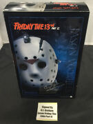 Signed Sideshow Collectibles Friday The 13th Part 6 Jason Voorhees Figure Signed