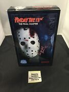 Sideshow Collectibles Friday The 13th Final Chapter Jason Voorhees Figure Signed
