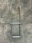 Marine Stainless Steel 2 Step Fixed Boat Boarding Ladder Inv 2