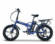 Lynx Pro Sport 48v Fold-able Electric Bike With Mag Wheels