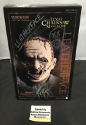 Sideshow Collectibles The Texas Chainsaw Massacre Leatherface Signed