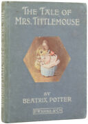 Beatrix Potter / The Tale Of Mrs Tittlemouse First Edition