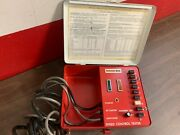 Vintage Ford Rotunda Speed Control Tester Metal Case Are-22015 Display Tool 1219