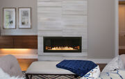 Empire Boulevard 36 Inch Vent-free Linear Gas Fireplace
