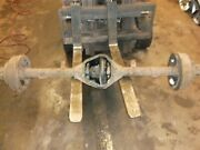 77-79 Ford F100 F150 Dana 60 Non-removeable Carrier Rear Axle 4.10 Differential