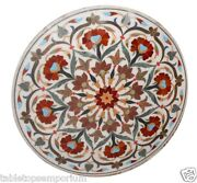 3and039x3and039 Marble Dining Top Table Inlay Carnelian Marquetry Inlay Outdoor Decor Gift