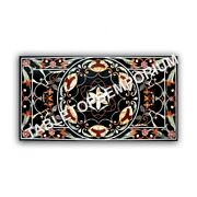 5and039x3and039 Marble Dining Center Table Top Inlay Living Hallway Christmas Decor E969a