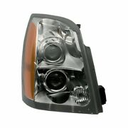 For Cadillac Srx 04-09 Gm2503298 Passenger Side Replacement Headlight Brand New