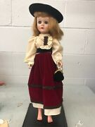Beautiful 18andrdquo Vintage Mary Hoyer Doll Very Old Nice Shape Estate Find