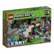 Lego 21141 Lego Minecraft The Zombie Cave 21141 Building Kit With Steve And Zombie