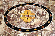 4and039x2and039 Marble Dining Table Top Antique Inlaid Work Decorative Living Home Dandeacutecor