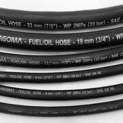 Cotton Over Braid Rubber Fuel Pipe Line Diesel Petrol Gas-oil Tubing Hose