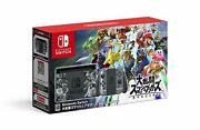 Nintendo Switch Console System Super Smash Bros Special Set Japan Brothers New