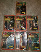 Vintage Kenner Set Of 7 Robin Hood Of Thieves Figures Unpunched New