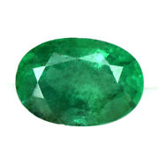 Emerald Oval Cut Natural Top Rich Green Fine Lovely 2.32 Cts Zambia Xmas Sale