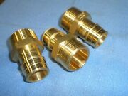 Pex A 1 Male Npt Adapters 72300exm No Lead Brass 15-pk Wirsbo Upinor Style
