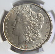 1889 Ngc Au 55 1 Silver Dollar Large Letter Closed 9