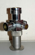 Vacuum Fitting Stainless Steel Adapter Kf-40 Nw40 6 Way Cross Compression Caps
