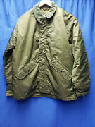 Vintage Us Army Extreme Cold Weather Green Jacket Alpha Industries 1978 Medium