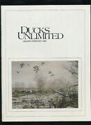 Vintage Lot Of 6 Ducks Unlimited Magazines Complete Year 1982