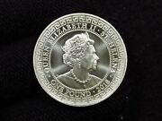 2018 Queen Elizabeth St. Helena The Easdt India Company Trade Dollar One Pound