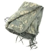 Us Military All Weather Poncho Liner Acu Camo Woobie Blanket Army Camping