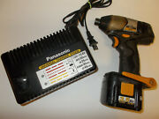 Panasonic Ey7201 Cordless 12 Volt Impact Driver/12 Volt Charger And Battery