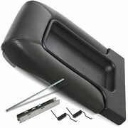 Center Console Fits 99-07 Chevy Silverado For 19127364 Lid Armrest Latch