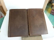 Marble Faun By Nathaniel Hawthorne. In Two Volumes. In Org. Cloth. 1st Ed. 1860