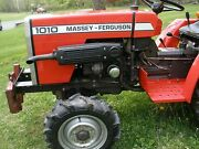 Massey Ferguson 1010 And 1020 Compact Tractor Workshop Manual