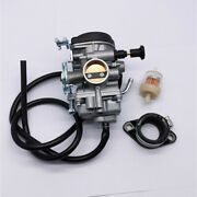 Carburetor W/ Intake Manifold Boot And Oil Filter And Pipe For Suzuki Dr200se Dr200s