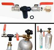 Co2 Refill Adapter For Sodastream Jet Sparkling Water Maker Canister Carbonator.