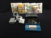 Nintendo 3ds Lot - Controller, Charging Stand, Cables, 4x Games