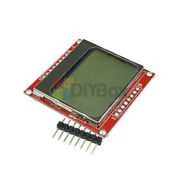 [10pcs] 84x48 Nokia White Backlight Lcd Module Board Adapter Pcb For Nokia 5110