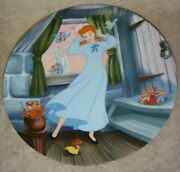 Knowles Bradford Exchange Cinderella Plate A Dream Is A Wish Your Heart