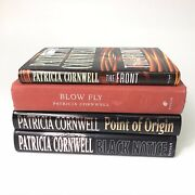 Patricia Cornwell 4 Books 1998-2003 The Front Blow Fly Point Of Origin