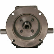 New Cast Iron Right Angle Worm Gear Reducer 201 Ratio 182/4t Frame